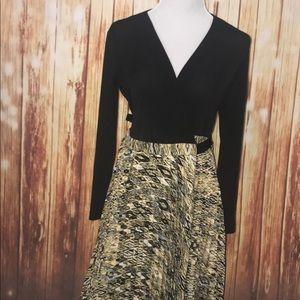 XS LuLaRoe DeAnne Dress NWT